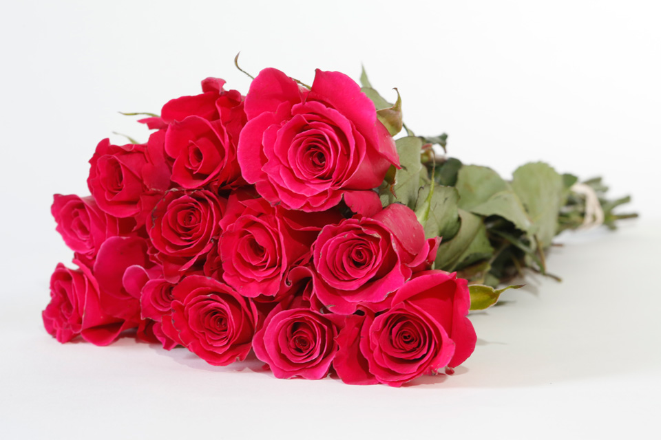 Rose Bouquets - Available in all colors - Full and Half Dozen